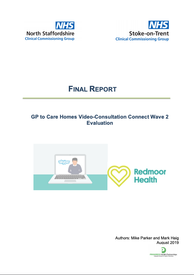 GP to Care Homes Video Consultation Connect Wave 2 Evaluation