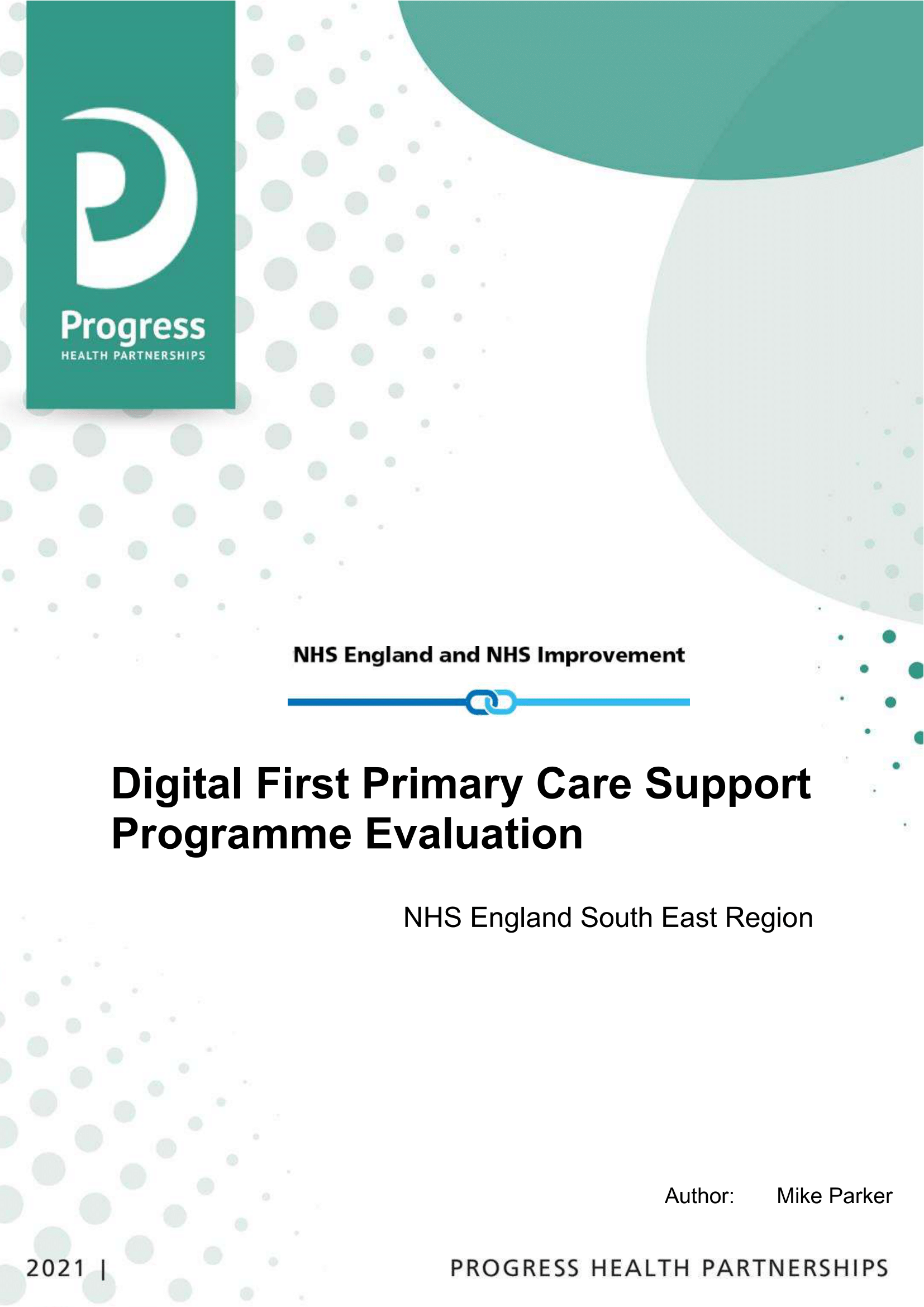 Digital First Support Programme South East England Evaluation